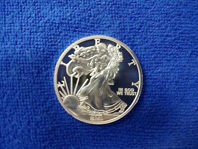 Sunshine Mint Walking Liberty 1 oz Silver Round Direct From Mint Tubes