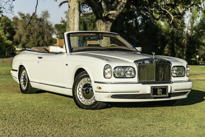 2000 Rolls-Royce Corniche  LOW MIES, White/Tan, service records, well kept, this is a MUST SEE!!
