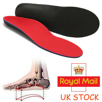 Kids Adult 3D Orthotic Insoles Flat Feet Foot Arch Heel Support Shoe Inserts Pad