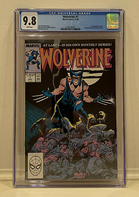 Wolverine #1 - CGC 9.8 White Pages - 1st Wolverine as Patch!