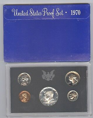 1970 United States Mint Proof Set!