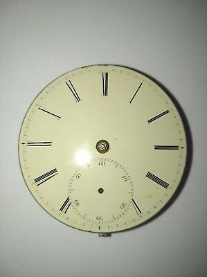 Vintage Antique Pocket Watch Movement for Spares or Parts