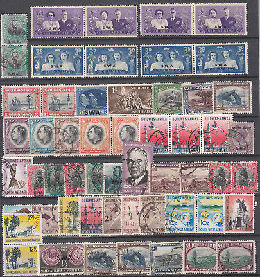 South West Africa - small stamp lot