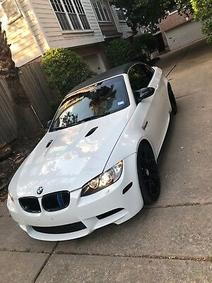 2012 BMW M3 convertible 2012 bmw m3 convertible E93 with platinum warranty