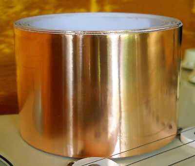 "Copper Foil Tape (10 ft X 2"") EMI Shielding Conductive Adhesive"