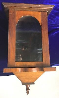 Rare Find Original Antique Gothic Clock Case C1900