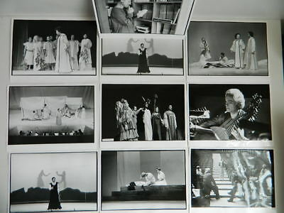 EURIDICE OPERA Rennes 1980 dossier cplt poster photo diapo programme tapuscrit