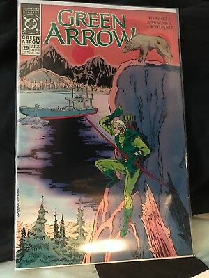 Green Arrow #29 Feb. 90