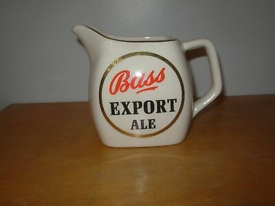 Bass Export Ale Pub Water Jug By Wade Regicor England