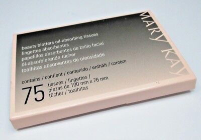 Mary Kay® Beauty Blotters Oil-Absorbing Tissues 75 Tissues New Full Size