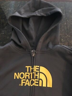 Boys youth The North Face grey hooded zip-up jacket size S (7-8) NWT