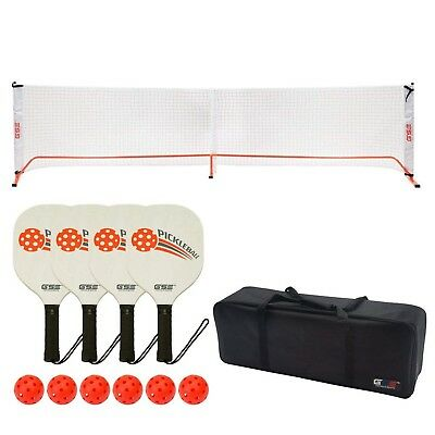 GSE Games & Sports Expert Professional Portable Pickleball Complete Set.