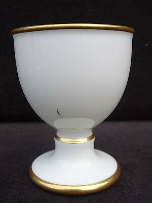 19Th C. Sevres France Napoleon Iii Armorial Footed Egg Cup ~ Rare ~ Listing #4