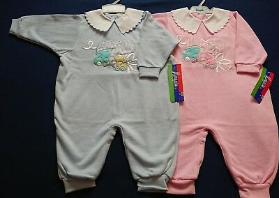 Twins Boy Girl Vintage Marquise Matching  Rompers Jumpsuits New with tags Size 1