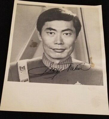 GEORGE TAKEI Autographed 8x10 Personalized Photograph