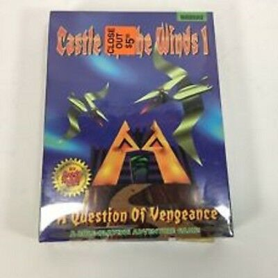 """Castle of the Winds 1 VTG Big Box PC Game 3.5"""" floppy disc NEW SEALED - 1994"""