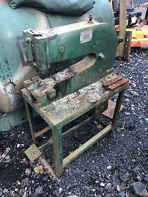 Whitney-Jensen Model #58Kick/Punch press