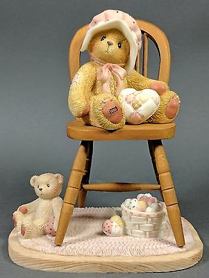 Cherished Teddies ~ Jenny - 2001 The Bigger The Heart The More (199877)  *MINT*