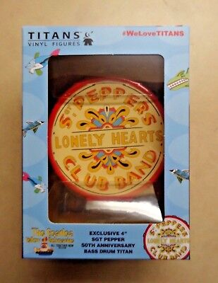 The Beatles Sgt Peppers Lonely Hearts Club Band Drum Titans Vinyl Figure