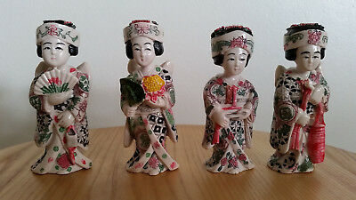 Lot of lovely Geisha figures