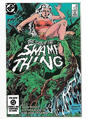 SWAMP THING (Vol. 2) 25 VF+/NM- 1st John Constantine, Alan Moore, DC Comics 1984