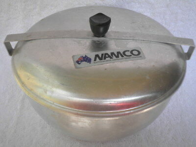 NAMCO Aluminium CHRISTMAS / XMAS PUDDING STEAMER 6 Cup - AUST Made