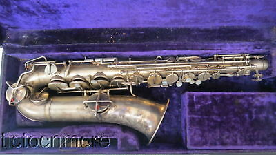 VINTAGE LYON & HEALY COUTERIOR MODEL FANCY ETCHED SAX SAXOPHONE SERIAL No. 13616