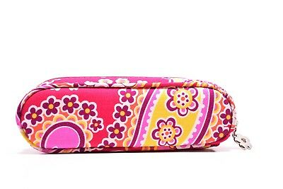Vera Bradley fabric zipper eyeglasses Case (only case without a cleaning Cloth)