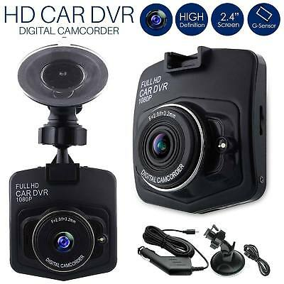 Videocamera HD 1080P in auto DVR Dash Cam Videoregistratore Black