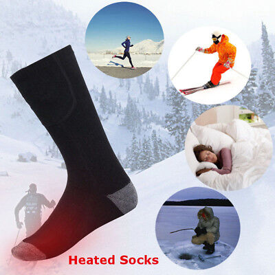 Winter Electric Warm Heated Socks Rechargeable for Chronically Cold Feet Sport