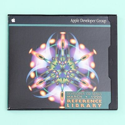 Apple Developer CD Series March 1996: Reference Library Edition Mac Software
