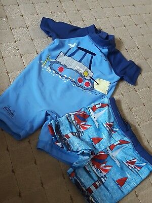 Next Boys Swimwear 12-18 Months