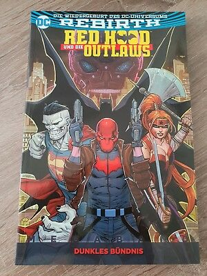 Red Hood und die Outlaws - Megaband 1 - Dunkles Bündnis - Panini Comics - DC