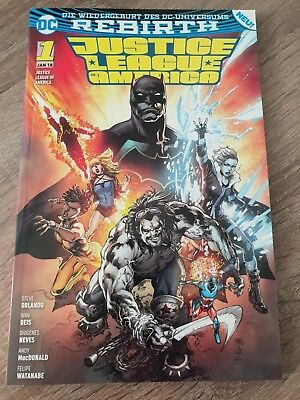 Justice League of America #1 - Die Extremists - Panini Comics - DC - Rebirth
