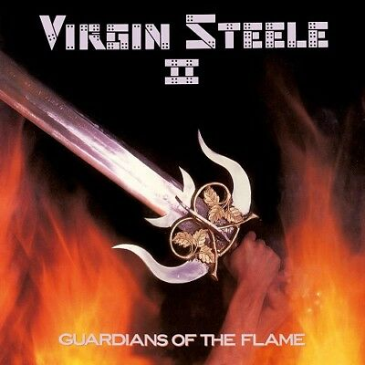 VIRGIN STEELE-Guardians Of The Flame 2018 CD Jack Starr,Riot,Queensryche,Private