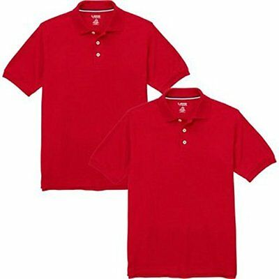 French Toast Boys Short Sleeve Shirt 2 Pack Polo's