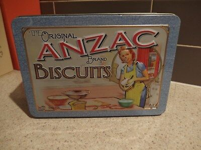ANZAC BISCUIT TIN ~ UNIBIC ~ Women At Home ~