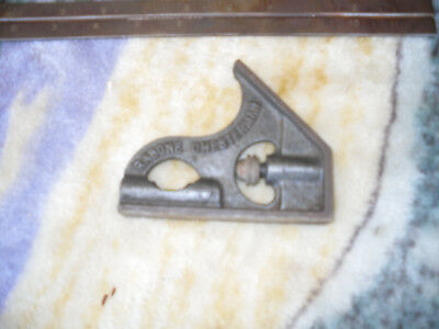 Vintage Rabone Chesterman Adjustable Combination Square with level