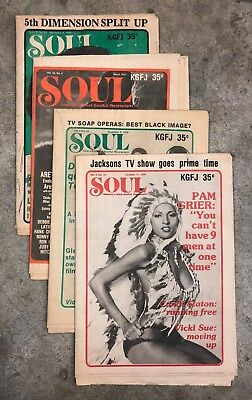 Back Issues Of Soul Newspaper And Good Times Magazine Soul Music News 1975 1978