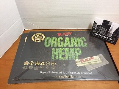 Raw Rolling Papers Change, Counter, Mouse Pad! Classic / Organic Hemp In Stock