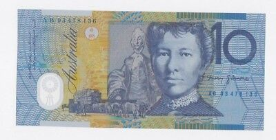 1 x 1993 Fraser & Evans $10 polymer UNC note - Uncirculated - Perfect.