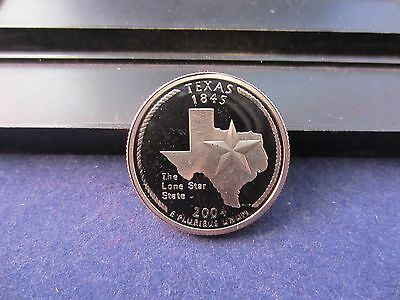 2004-S Texas Silver Quarter Deep Cameo Mirror Proof Upper Grading Ranges
