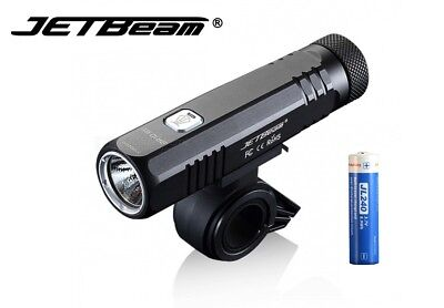 New Jetbeam BR10-GT SST40 N4 BC 1100lm LED Bike Bicycle Light (With Battery)