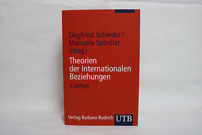 Theorien der Internationalen Beziehungen - Schieder / Spindler, 9783825223151