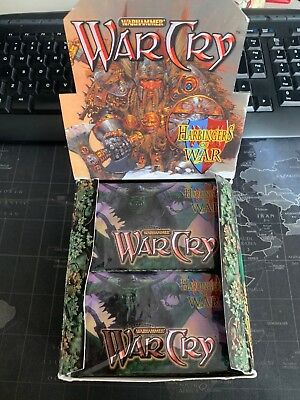 Harbingers of War - Sealed Booster - WarCry CCG TCG Warhammer
