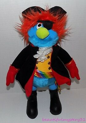 """15"""" Lighthouse Pete the Pirate Camp May Lewes Ferry Mascot Blue Rainbow Plush"""