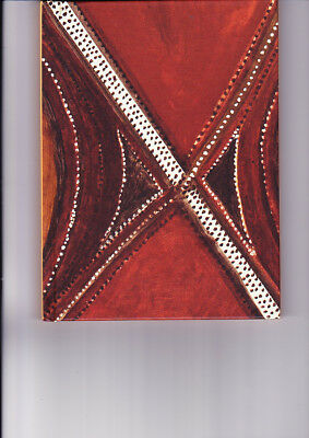 "Aboriginal Blank Book "" Jarringgel"" by  Mick Jawalji   ( BRAND NEW )"