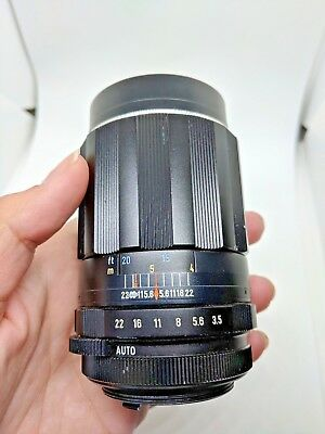 Asahi Pentax Super Multi Coated Takumar 135mm Vintage Used