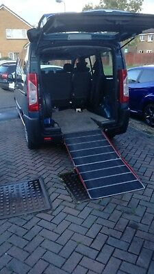 Citroen dispatch 1.6 HDI 6 seater with wheelchair or mobility scooter access