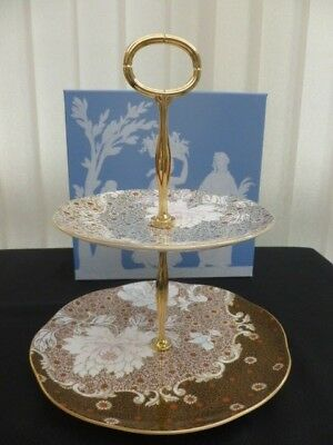 Wedgwood Daisy Tea Story 2 Tier Cake Stand First Quality Brand New Unused Boxed